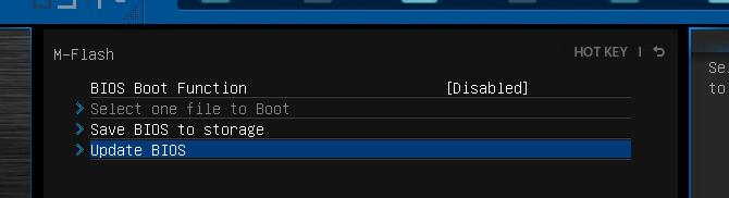Asus bios not updating