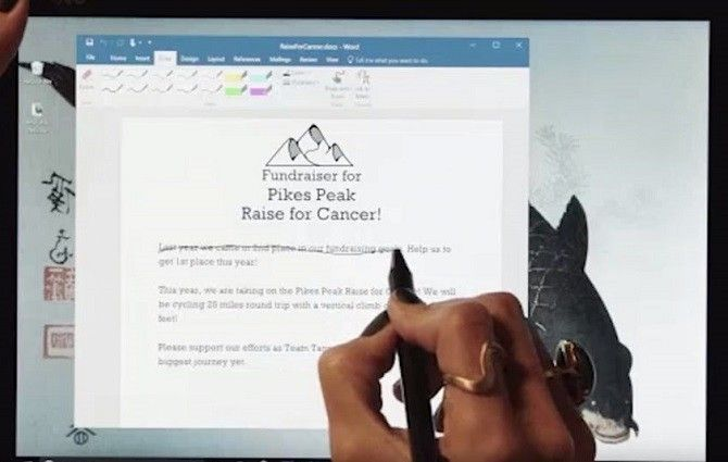 Windows 10 Creators Update -- Microsoft Word