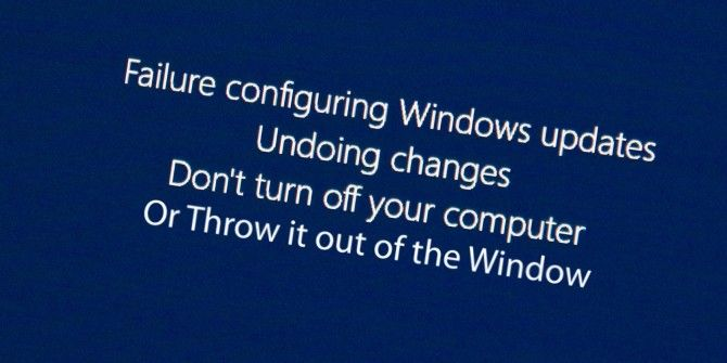 Windows 10 Can Now Uninstall Buggy Updates