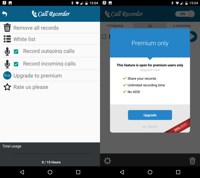 How to automatically record calls on android and never run out of.