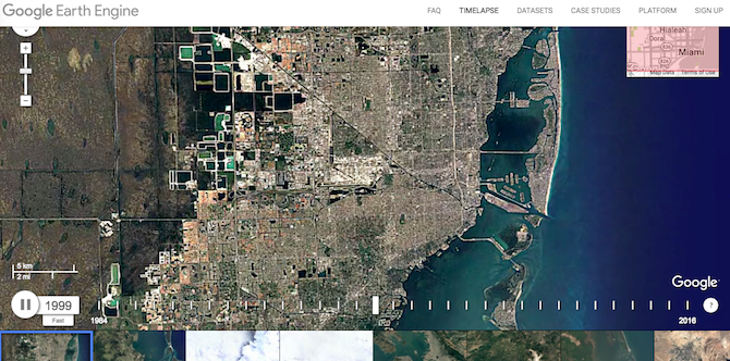 best google earth maps timelapse