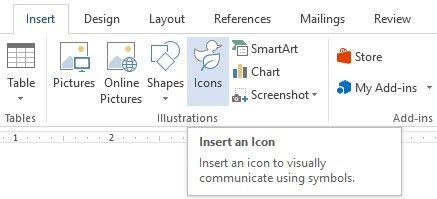 Microsoft Word - Icon Library