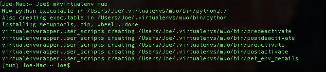 python create virtual environment