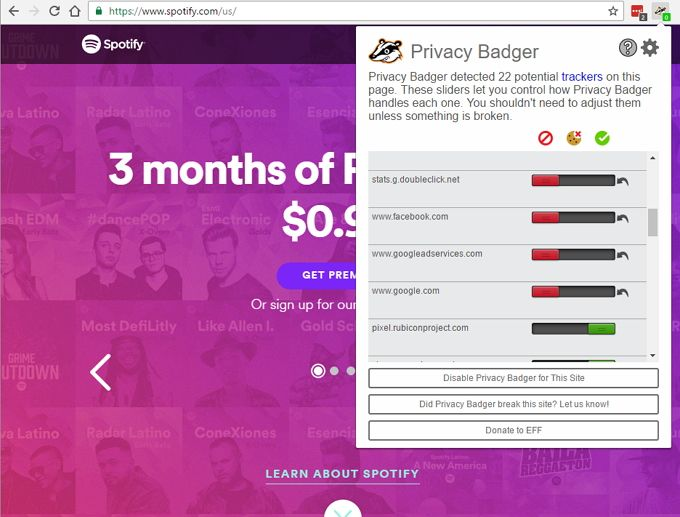 spotify_privacy_badger_screenshot