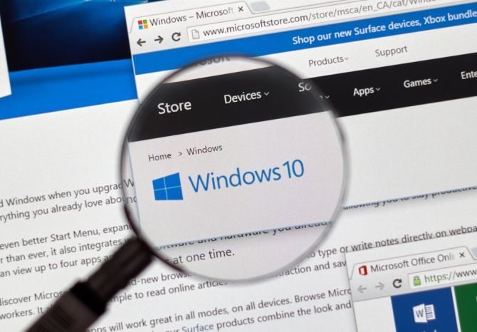 Which Operating System Should You Choose for Your Next PC Windows 10 magnifying glass security