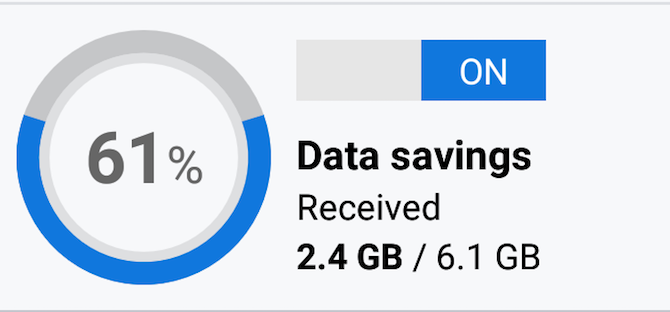 Android Data Savings Browser