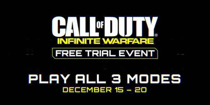 Play Call of Duty: Infinite War Free This Weekend