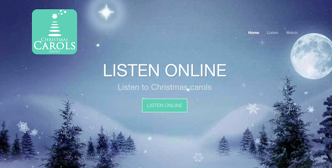 christmas carols songs music -- carols online