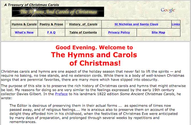 christmas carols songs music hymns and carols of christmas - Christmas Songs Religious