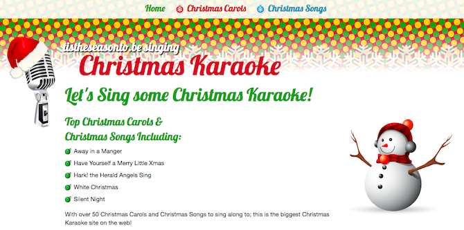 christmas carols songs music -- tis the season to be