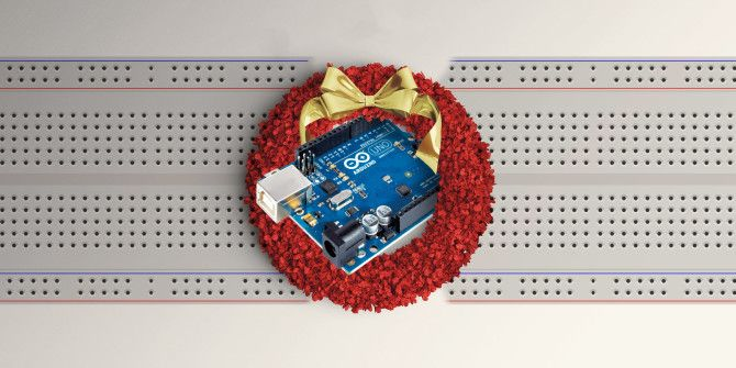 Upgrade Your Christmas Wreath With a Motion Activated LED Matrix