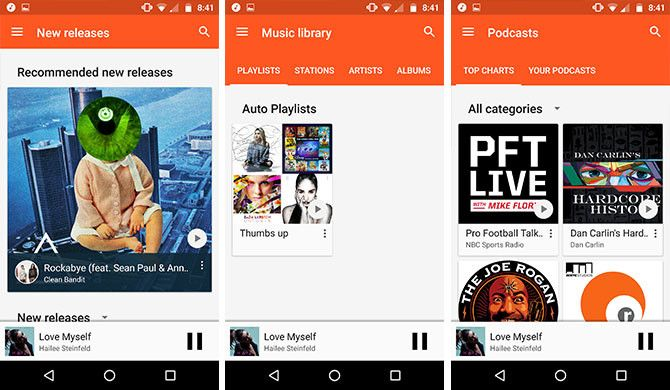how to download music on google play
