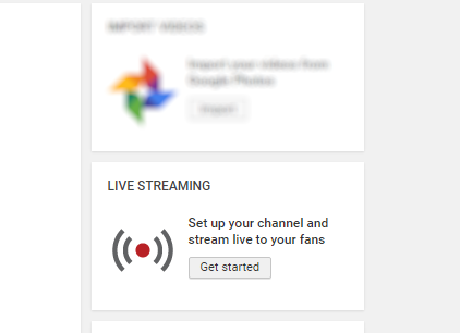 youtube streaming live