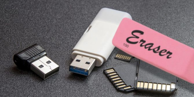 How to Permanently Delete Data From a Flash Drive