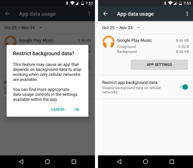How to Simplify Your Phone and Get Back to the Basics AndroidPhoneBasics Data Usage Restrict