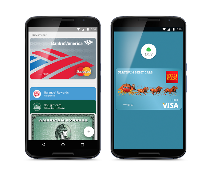 Google's Most Interesting: Apps, Projects, and Services You Must Know About Android Pay Screenshots