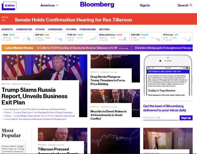 10 Financial Websites That Help You Stay On Top Of The Market Bloomberg
