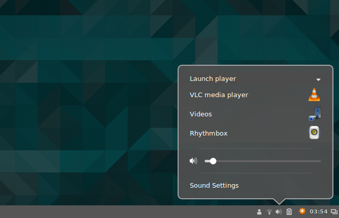 Cinnamon VLC media player settings