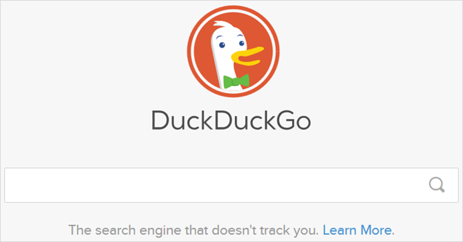 7 Google Search Alternatives and Their Trademark Features DuckDuckGo main web