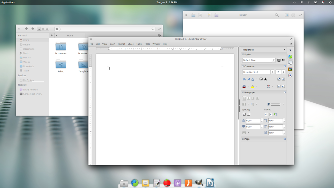 elementaryos loki libreoffice files scratch
