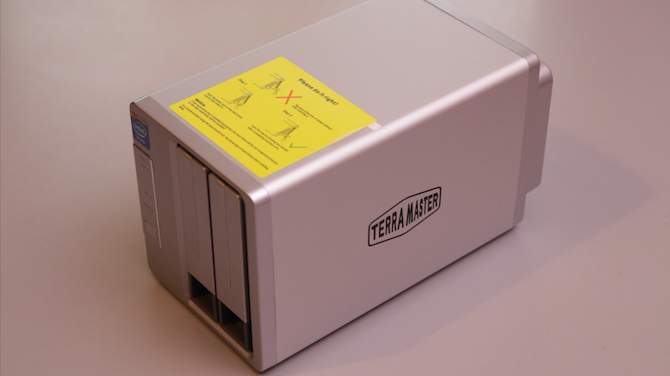 TerraMaster F2-220 NAS Review