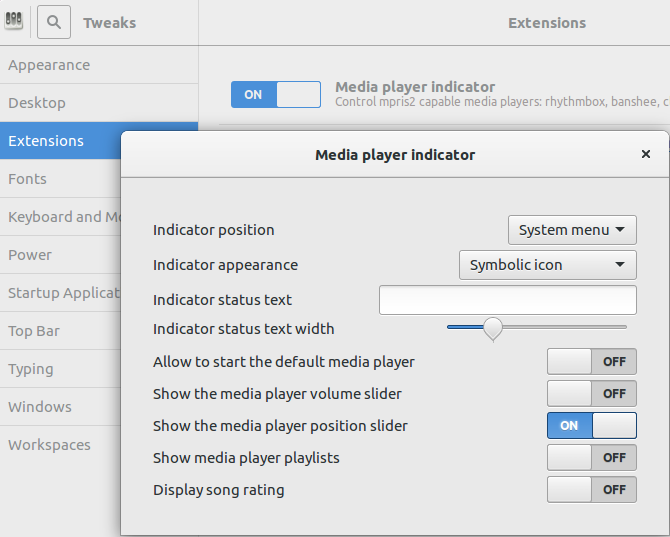 Make Your Linux Music Experience Seamless With These Tools GNOME Integration Settings