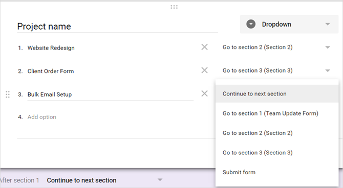 How to Use Google Forms for Your Business GoogleForms TeamUpdateForm