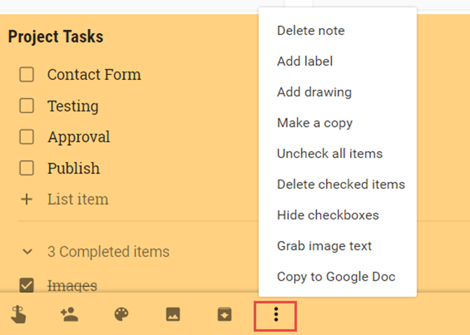 How to Use Google Keep for Simple Project Management GoogleKeepExtras web