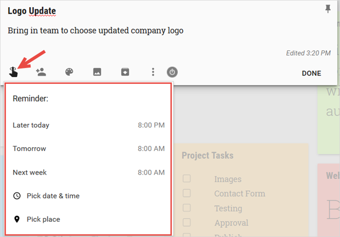 How to Use Google Keep for Simple Project Management GoogleKeepReminders web