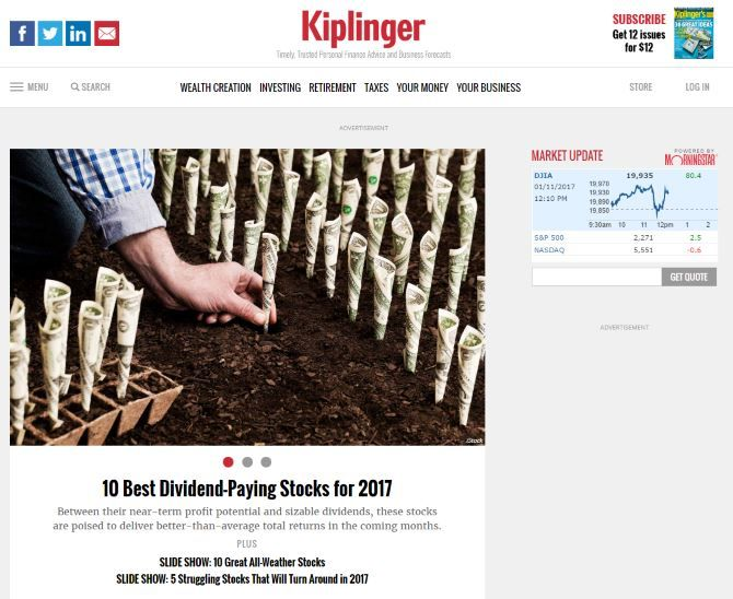 10 Financial Websites That Help You Stay On Top Of The Market Kiplinger