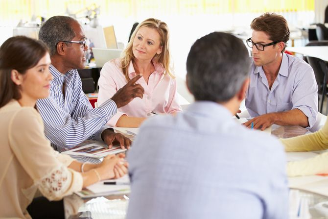 The 5 Best Project Management Tips for Beginners ProjectTeamMeeting shutterstock 130607579
