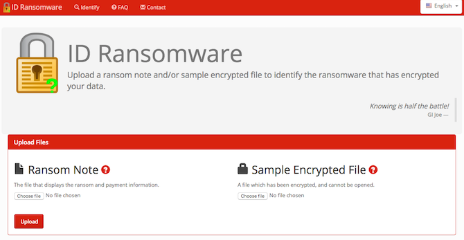 5 Sites and Apps to Beat Ransomware and Protect Yourself Ransomware ID Ransomware