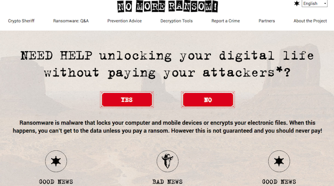5 Sites and Apps to Beat Ransomware and Protect Yourself Ransomware No More Ransom