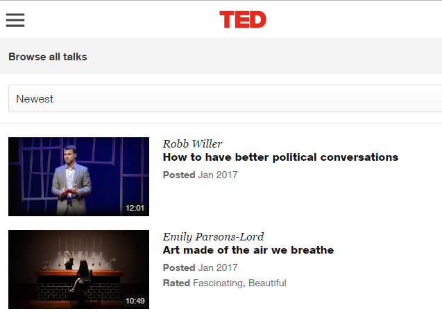 10 Video Sites That Are Better Than YouTube TED talks