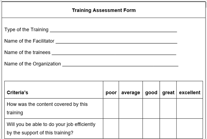 10 free business form templates you should keep handy 10 free business form templates you should keep handy trainingassessmentform tidyforms wajeb Choice Image