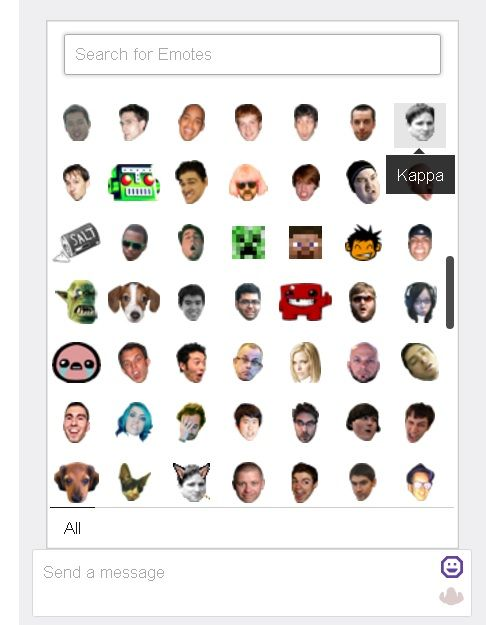 Twitch's Native Emotes