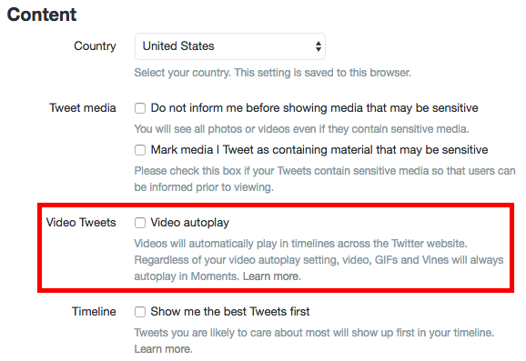This Trick Will Stop Wasting Mobile Data (and Money) on Social Media Sites Twitter Autoplay