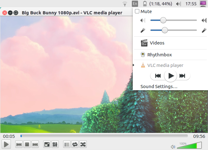 Unity VLC media player settings