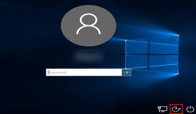3 Ways to Reset a Forgotten Windows Administrator Password Windows 10 Login Ease of Access Shortcut
