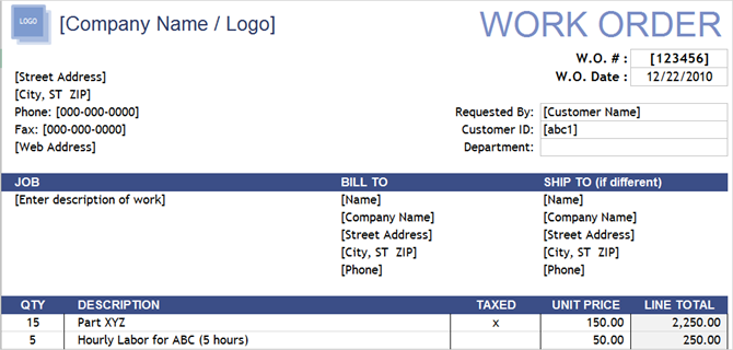 10 free business form templates you should keep handy 10 free business form templates you should keep handy workorderformpt1 vertex42 cheaphphosting Gallery