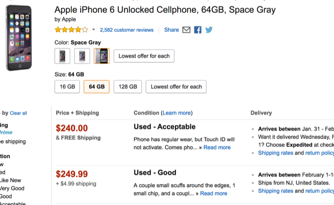 7 Practical Things You Should Do After Cracking Your Smartphone's Screen amazon used iphone6