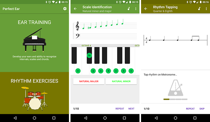 5 Free Apps That Help You Learn and Play Guitar android app perfect ear