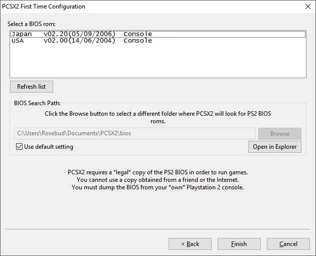 pcsx2 plugins bios