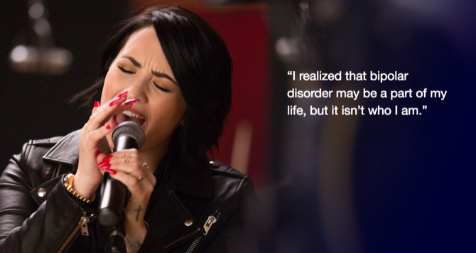 10 Celebrities Who Will Inspire You to Take Care of Your Mental Health demi lovato bipolar
