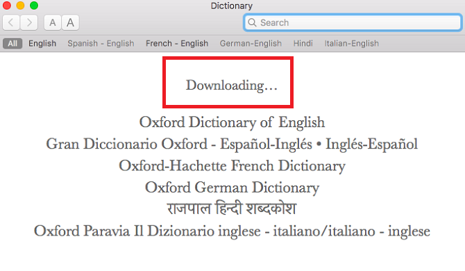dictionary-downloading