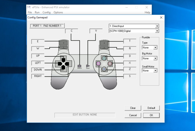 How to Play Sony PlayStation (PSX) Games on Your PC epsxe controller e1485529865123