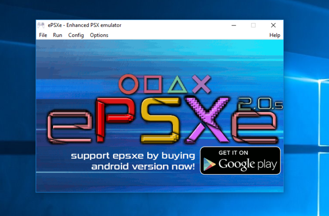 How to Play Sony PlayStation (PSX) Games on Your PC epsxe e1485529621628
