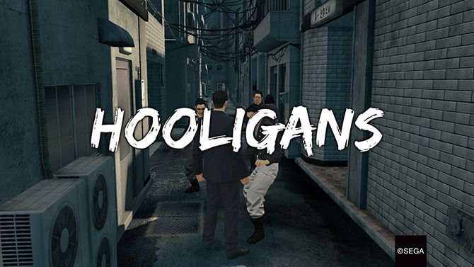 Yakuza Is the Best Japanese Franchise You've Never Played fight hooligans