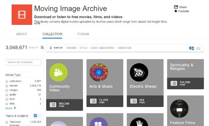 10 Video Sites That Are Better Than YouTube internet archive