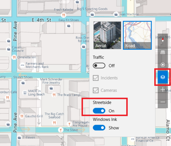 Windows Maps vs. Google Maps: 7 Features Windows Does Better microsoft maps streetside 584x500